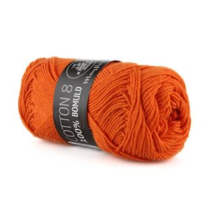 Mayflower Bomuld Mørk Orange