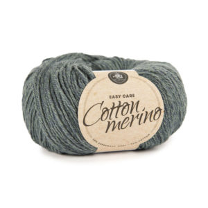 Mayflower Cotton Merino Solid Mørk Aquamarine